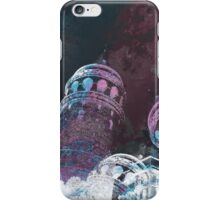 Tower modern galata tower surreal painting art design iPhone Case/Skin