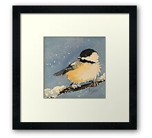 Solo Chick Framed Print