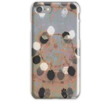 Soul modern abstract painting art design iPhone Case/Skin
