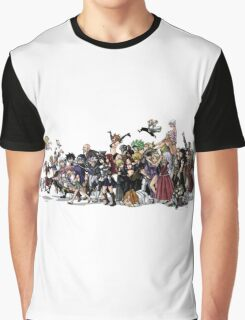 Fairy Tail Group Graphic T-Shirt