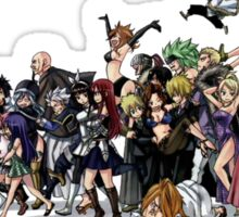 Fairy Tail Group Sticker