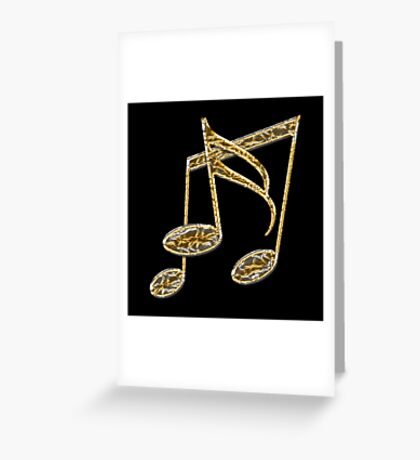 """""""Golden Oldies"""" typography Greeting Card"""
