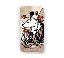 Wolf Ukiyo-e Samsung Galaxy Case/Skin