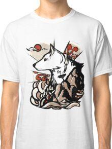 Wolf Ukiyo-e Classic T-Shirt