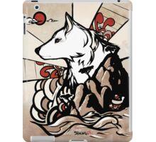 Wolf Ukiyo-e iPad Case/Skin