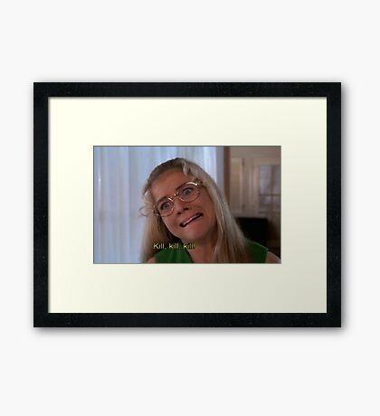 JAN BRADY  Framed Print