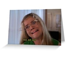 JAN BRADY  Greeting Card
