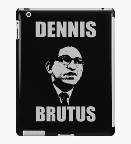 DENNIS BRUTUS-2 iPad Case/Skin