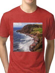 SCOTLAND CROVIE Tri-blend T-Shirt