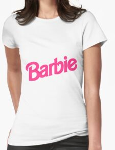 Barbie Girl Womens Fitted T-Shirt