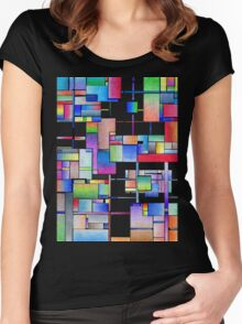 Interconnected Women's Fitted Scoop T-Shirt