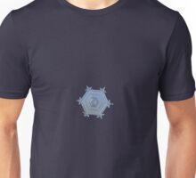 Serenity, real snowflake macro photo Unisex T-Shirt