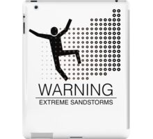 Extreme Sandstorms iPad Case/Skin