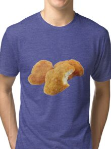Chicken Nuggetz Tri-blend T-Shirt