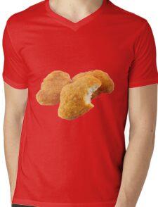 Chicken Nuggetz Mens V-Neck T-Shirt
