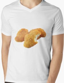 Chicken Nuggetz Mens V-Neck T-Shirt