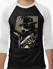 Rambler Tequila Bandit - Black Men's Baseball ¾ T-Shirt