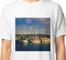Newport Oregon - Sleeping Ships Classic T-Shirt