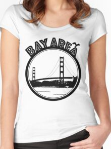 Bay Area  Women's Fitted Scoop T-Shirt