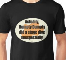 Humpty Dumpty Fail - graphic version Unisex T-Shirt