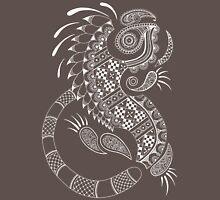 Paisley Iguana Unisex T-Shirt