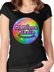 DJ Disco Vinnie Women's Fitted Scoop T-Shirt