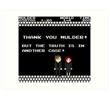 Thank You Mulder ! Art Print