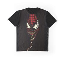 Venom  ft Spiderman  Graphic T-Shirt