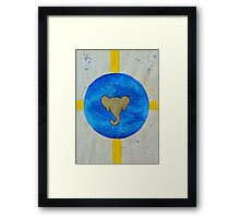 Elephant Planet Framed Print