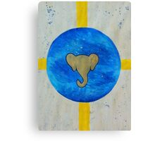 Elephant Planet Canvas Print