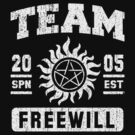 Team Freewill by rexraygun