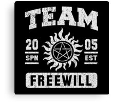 Team Freewill Canvas Print