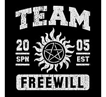Team Freewill Photographic Print