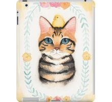 Sam and His Easter Chick iPad Case/Skin