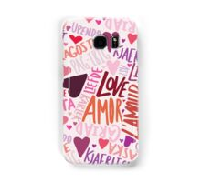 Love Languages Samsung Galaxy Case/Skin