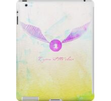 I open at the close. iPad Case/Skin