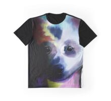 Watercolour Pup  Graphic T-Shirt