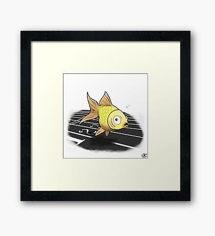The Neepa Goldfish Framed Print