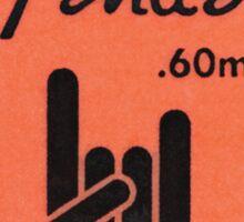 FENDER PICK Sticker