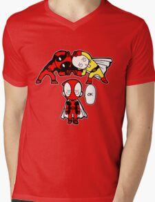 fusion comics Mens V-Neck T-Shirt