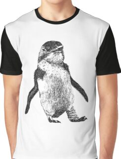 Ink Penguin Graphic T-Shirt
