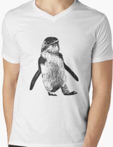 Ink Penguin Mens V-Neck T-Shirt