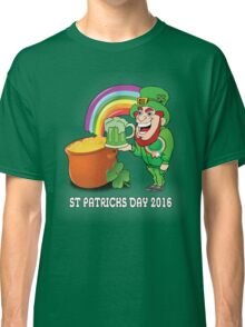 St Patricks Day Colour Classic T-Shirt