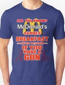 McDonald's Breakfast Unisex T-Shirt