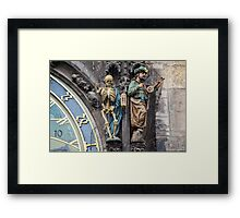 Death and a Turk Framed Print
