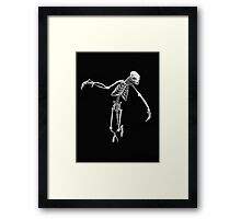 Wraith Skeleton Framed Print