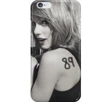 Taylor Swift 89 iPhone Case/Skin