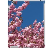 Pink Blossoms and Blue Sky iPad Case/Skin