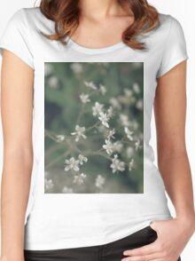 summergrass three Women's Fitted Scoop T-Shirt