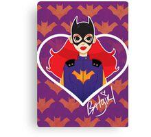 Sweethearts-Burnside Batgirl Canvas Print